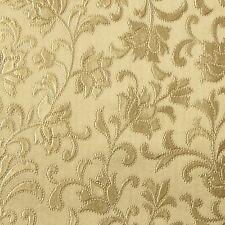 LUSSO Vintage Oro Damasco Floreale in Rilievo Pulibile Con Panno PVC Vinile Tovaglia