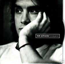 Bob Schneider 3 Tracks SAMPLER NICE PHOTOS & BIO PROMO CD Single 2000 USA