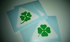 Quadrifoglio Verde | Sticker | Squadra Corse | Alfa Romeo | Badge | Aufkleber