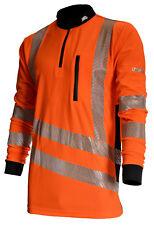 TreeHog THHV2010 Hi Viz Shirt Long Sleeve, Suitable for Stihl & Husqvarna Users