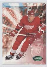 1995-96 Parkhurst International #71 Aaron Ward Detroit Red Wings Hockey Card