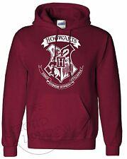 Hogwarts Crest Logo || New Blogger Fashion|| Unisex Hooded Pullover || XS-XL ||