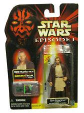 Star Wars Episode 1 Qui-Gon Jinn Naboo Figure Commtech Collection 1 1999