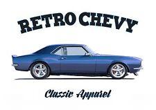 CHEVROLET CAMARO t-shirt. RETRO CHEVY. CLASSIC CAR. MODIFIED. AMERICAN CAR.