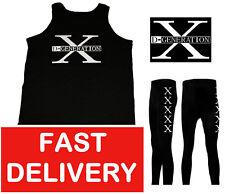 GENERATION DX FANCY DRESS WRESTLING WRESTLER VEST & PANTS