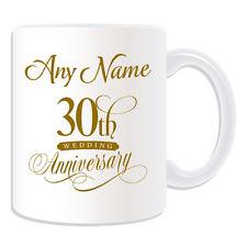 REGALO personalizzato trentesimo anniversario TAZZA SALVADANAIO COPPA DI MATRIMONIO, onorevole collega giusto AMORE
