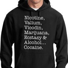 La nicotina, Valium, calmante, etc.. con Capucha Qotsa Queens Stone Age Feel Good Homme
