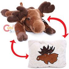 Moose  Plush Doll Transforming Pillow Fiesta  Animal Peek A Boo Cushion