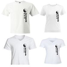 Jeet Kune Do Martial Arts Symbol Mens Women Juniors Girls Unisex Top Tee T-Shirt