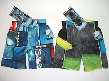 Boys Swimsuit Bathing Suit Plus Swim Goggles XS 4 5 UV 50 Protection NWT