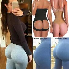 Women High Waist Cincher Butt Lifter Tummy Control Sexy Thong Panty Body Shaper