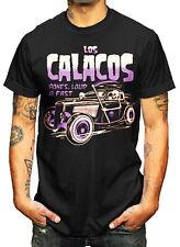 La Marca Del Diablo [Los calacos Consiglio RACE] T-Shirt Rockabilly Rocker Tatuaggio la