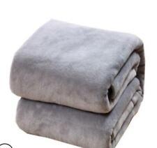 Throwover Super Soft Plush Velvet Blanket Sofa Home Bed Fleece Bedding Throws