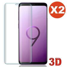 Vitre verre trempé film protection écran Samsung S9 S8 Plus S7 3D Intégral Total