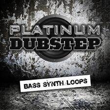 Platinum dubstep Bass Synth bucles (WAV, AIFF, REX2) Ableton Cubase Logic motivo