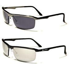 Men's New Semi-Rimless X-Loop Metal Sunglasses