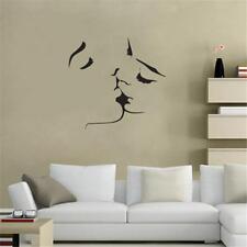 Romantic Kiss Wall Sticker Home Decor Bedoom DIY Art Mural Decoration Decal - FI