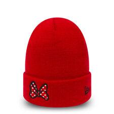 NEW ERA Chapeau Fille fille BEANIE Bonnet CAP Hat tricoté Neuf DISNEY Minnie