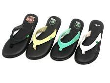 Sanuk Women's Yoga Chakra Flip Flops Sandals SWS10577 Multiple Colors