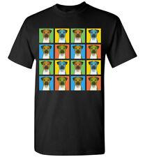 Smooth Fox Terrier Cartoon Pop T-Shirt, Men Women's Youth Tank Short Long Sleeve