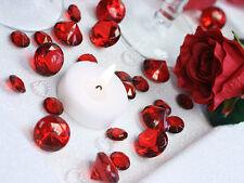 100 Diamanten Dekosteine 12mm Streudeko Tischdeko Kristalle Hochzeit Streudeko