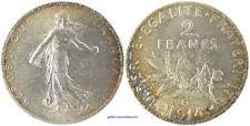2 FRANCS SEMEUSE  ARGENT 1914 C CASTELSARASIN   SUPERBE