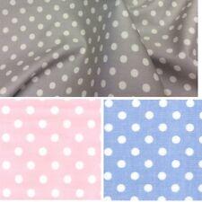 100% Cotton Poplin Fabric - 7mm Spots