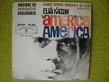 FRENCH EP BO America -Elia Kazan 1963-mus HADJIDAKIS