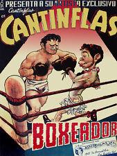 Mexican Movie POSTER.CANTINFLAS.Bar Decor.Boxing art.Interior design.21