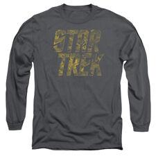 STAR TREK SCHEMATIC LOGO T-Shirt Men's Long Sleeve