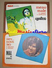 UGOLINO MAL PRIMITIVES RARO SPARTITO SINGOLO 1969 Lamberti Migliacci no cd lp