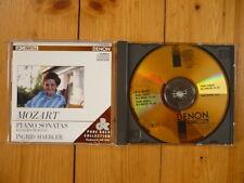 MOZART Piano Sonatas  Ingrid Haebler PURE GOLD COLLECTION 24K JAPAN CD RAR!