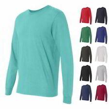 Fruit of the Loom Mens Tees SofSpun Jersey Long Sleeve T-Shirt SFLR
