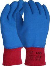 12 x UCI LGB Premium Waterproof Medium Weight Rubber Latex Blue/Red Glove