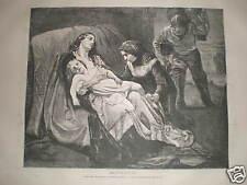 Shipwrecked by Madame Jerichau 1871 print