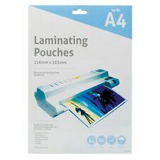 A4 80 micron pochettes plastifieuse machine imperméable feuilles pack de 10