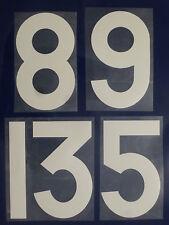 Flock Nummer number número home Trikot jersey shirt Frankreich France 1966