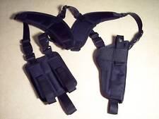 """LEFT Hand Vertical Shoulder Holster FNP 45 Tactical w/ 5"""" barrel ..Made In USA"""