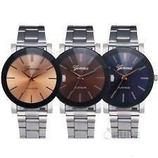 Women's Crystal Stainless Steel Quartz Watches Luxury Brand Dress Wristwatches
