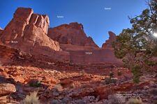 Arches National Park Moab Utah #6 Red Rock Desert Poster Photo Print