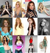 Lindsay Lohan - Hot Sexy Photo Print - Buy 1, Get 2 FREE - Choice Of 89