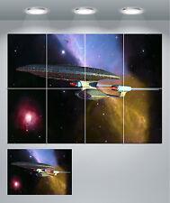 Star Trek Enterprise Space Ship Giant Wall Art poster Print