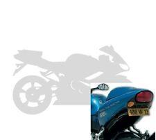 Passage de roue PDR avec Eclairage Ermax Triumph Speed Triple 2002/2004