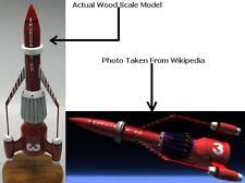Anderson Thunderbird 3 Spaceship Desktop Wood Model Regular