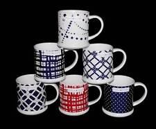 LRG Tommy Hilfiger Tankard Mug Polka Dots*Squares*Ropes Red or Navy You Pick NEW