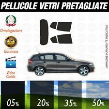 Bmw Serie 1 5p dal 2004 al 2010 Pellicole Oscuramento Vetri Auto Pre Tagliate a