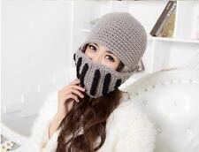 Unisex Women Men Knit Winter Warm Ski Beanie Wool Roman Knight Helmet Hat Cap 6L