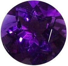 Natural Extra Fine Deep Purple Amethyst - Round - Zambia - AAA+ Grade
