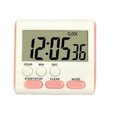 Reloj Digital Portátil Reloj de Control Horario Pantalla LCD para Cocinar Cocina