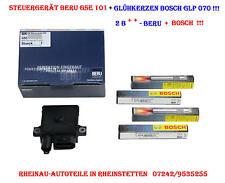 Steuergerät/Glühzeit BERU GSE101+4 Glühkerzen BOSCH GLP070- BMW X3 (E83),diverse